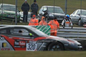World © Octane Photographic Ltd. Avon Tyres British GT Championship. Monday 1st April 2013 Oulton Park – Race 2. Nissan GTR – JRM Racing – Steve Tandy, Dan Brown. Digital Ref : 0625lw1d0055