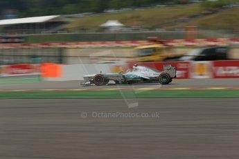 World © Octane Photographic Ltd. F1 Belgian GP - Spa-Francorchamps, Saturday 24th August 2013 - Practice 3. Mercedes AMG Petronas F1 W04 – Lewis Hamilton. Digital Ref : 0792lw1d8997