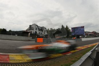 World © Octane Photographic Ltd. F1 Belgian GP - Spa-Francorchamps, Saturday 24th August 2013 - Qualifying. Sahara Force India VJM06 - Paul di Resta. Digital Ref : 0793lw1d5420