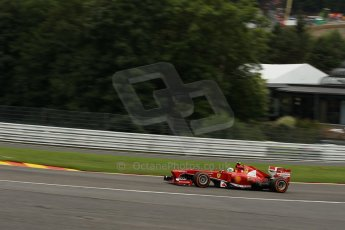 World © Octane Photographic Ltd. F1 Belgian GP - Spa-Francorchamps, Saturday 24th August 2013 - Qualifying. Scuderia Ferrari F138 - Felipe Massa. Digital Ref : 0793lw1d5568