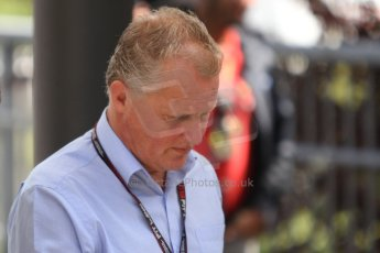 World © Octane Photographic Ltd. F1 Paddock, Belgian GP, Spa Francorchamps, Thursday 22nd August 2013. Johnny Herbert - Sky TV. Digital Ref :