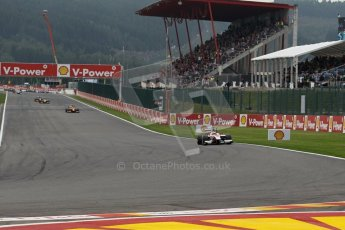 World © Octane Photographic Ltd. GP2 Belgian GP, Spa Francorchamps, Sunday 25th August 2013. Race 2. James Calado – ART Grand Prix. Digital Ref : 0796lw1d9964