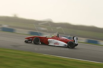 World © Octane Photographic Ltd. BRDC Formula 4 (F4) Qualifying, Donington Park 28th September 2013. MSVF4-13, Hillspeed, Struan Moore. Digital Ref : 0831lw1d8449