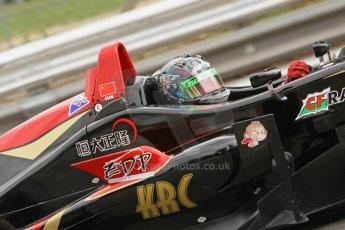 World © Octane Photographic Ltd. British Formula 3 – Brands Hatch. Saturday 10th August 2013 – Qualifying. Sun Zheng – CF Racing – Dallara F311 NBE. Digital Ref : 0776cb1d3467