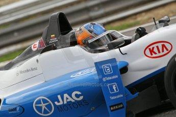World © Octane Photographic Ltd. British Formula 3 – Brands Hatch. Saturday 10th August 2013 – Qualifying. Tatiana Calderon – Double R – Dallara F312 HWA Mercedes. Digital Ref : 0776cb1d3474