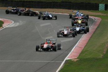 World © Octane Photographic Ltd. British Formula 3 – Brands Hatch. Saturday 11th August 2013 – Race 2. Felipe Lopes Guimaraes – Fortec Motorsport – Dallara F312 HWA Mercedes. Digital Ref :