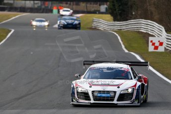 World © Octane Photographic Ltd./Chris Enion. Avon Tyres British GT Championship - Saturday 30th March 2013 Oulton Park – Practice 2. Audi R8 LMS Ultra – United Autosports – Zak Brown, Matt Bell, Mark Patterson. Digtal Ref :