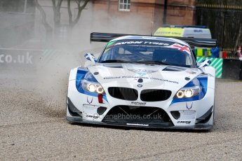 World © Octane Photographic Ltd./Chris Enion. Avon Tyres British GT Championship - Saturday 30th March 2013 Oulton Park – Practice 2. BMW Z4 GT3 – Ecurie Ecosse with Barwell Motorsport – Piers Johnson, Ron Johnson. Digital Ref :