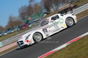 World © Octane Photographic Ltd./Chris Enion. Avon Tyres British GT Championship. Mercedes-Benz SLS AMG GT3 – Fortec Motorsports – James Walker, Jason Minshaw. Digtal Ref : 0604ce1d4437