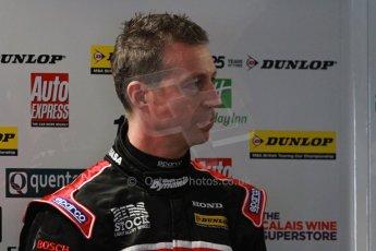 World © Octane Photographic Ltd. Thursday 21st March 2013. Dunlop MSA British Touring Car Championship (BTCC) Media Day – Donington Park. Matt Neal – Honda Yuasa Racing – Honda Civic. Digital Ref : 0601cj7d0637