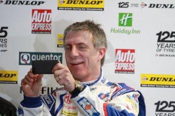 World © Octane Photographic Ltd. Thursday 21st March 2013. Dunlop MSA British Touring Car Championship (BTCC) Media Day – Donington Park. Jason Plato – MG KX Momentum Racing – MG6 GT. Digital Ref : 0601cj7d0659