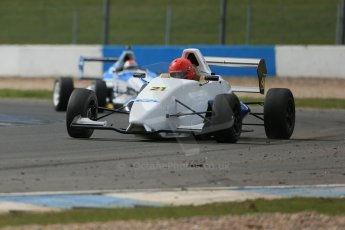 World © Octane Photographic Ltd. Formula Ford, Donington Park practice Thursday 18th April 2013. SWB Motorsport – Sinter LA12/Scholar – Fred Martin-Dye. Digital Ref :