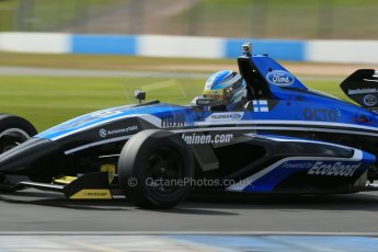 World © Octane Photographic Ltd. Formula Ford, Donington Park practice Thursday 18th April 2013. Falcon Motorsport – Mygale M13-SJ/Scholar – Lassi Halminen. Digital Ref :
