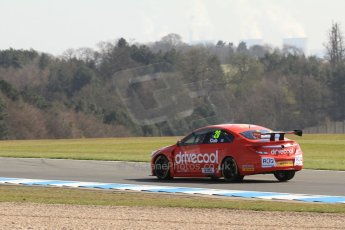 World © Octane Photographic Ltd. BTCC, Donington Park Saturday 20th April 2013. James Cole - RCIB Insurance Racing - Vauxhall Insignia. Digital Ref :