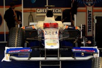 World © Octane Photographic Ltd. GP2 British GP, Silverstone, Thursday 27th June 2013. Practice. Nathanaël Berthon - Trident Racing. Digital Ref : 0723ce1d6052