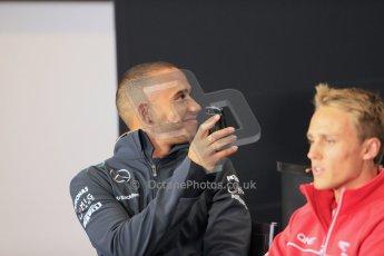 World © Octane Photographic Ltd. F1 British GP - Silverstone, Thrusday 27th June 2013. Mercedes AMG Petronas – Lewis Hamilton. Digital Ref : 0723lw7dx9906