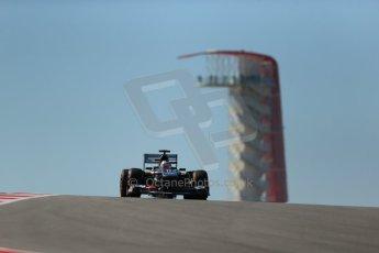 World © Octane Photographic Ltd. F1 USA GP, Austin, Texas, Circuit of the Americas (COTA), Friday 15th November 2013 - Practice 2. Sauber C32 - Nico Hulkenberg. Digital Ref : 0854lw1d3709