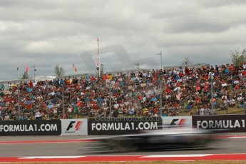 World © Octane Photographic Ltd. F1 USA GP, Austin, Texas, Circuit of the Americas (COTA), Saturday 16th November 2013 - Qualifying. Williams FW35 - Valtteri Bottas. Digital Ref : 0858lw1d1994