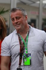 World © Octane Photographic Ltd. F1 USA GP, Austin, Texas, Circuit of the Americas (COTA), Saturday 16th November 2013 - Matt LeBlanc - Actor best known as Joey from Friends. Digital Ref : 0856lw1d2258