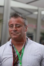 World © Octane Photographic Ltd. F1 USA GP, Austin, Texas, Circuit of the Americas (COTA), Saturday 16th November 2013 - Matt LeBlanc - Actor best known as Joey from Friends. Digital Ref : 0856lw1d2259