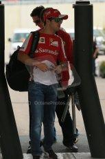 World © Octane Photographic Ltd. F1 USA GP, Austin, Texas, Circuit of the Americas (COTA), Sunday 17th November 2013 - Paddock. Scuderia Ferrari - Felipe Massa. Digital Ref : 0859lw1d5661