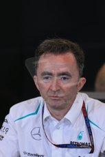 World © Octane Photographic Ltd. F1 USA GP, Austin, Texas, Circuit of the Americas (COTA), Friday 15th November 2013 – FIA Press conference. Paddy Lowe – Technical Director Mercedes AMG Petronas. Digital Ref : 0855lw1d4529