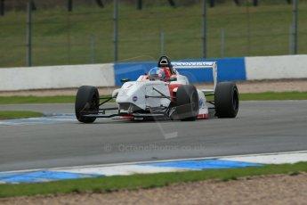 World © Octane Photographic Ltd. Donington Park General Test, Jake Hughes - BRDC Formula 4 - Lanan Racing - MSV F4-13. Thursday 19th September 2013. Digital Ref : 0829lw1d7415