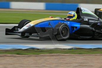 World © Octane Photographic Ltd. Donington Park General Test, Thursday 19th September 2013. Matteo Ferrar - Protyre Formula Renault Championship - MGR Motorsport. Digital Ref : 0829lw1d7439