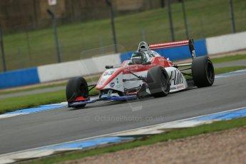 World © Octane Photographic Ltd. Donington Park General Test, Matt Bell, Douglas Motorsport, BRDC Formula 4, MSV F4-13. Thursday 19th September 2013. Digital Ref : 0829lw1d7472