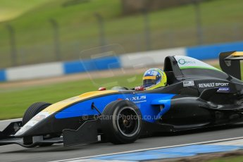 World © Octane Photographic Ltd. Donington Park General Test, Thursday 19th September 2013. Matteo Ferrar - Protyre Formula Renault Championship - MGR Motorsport. Digital Ref : 0829lw1d7487