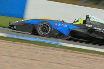 World © Octane Photographic Ltd. Donington Park General Test, Thursday 19th September 2013. Matteo Ferrar - Protyre Formula Renault Championship - MGR Motorsport. Digital Ref : 0829lw1d7711