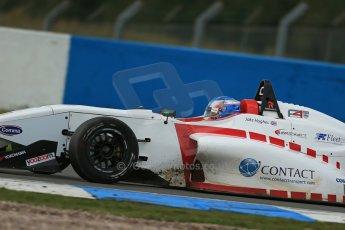 World © Octane Photographic Ltd. Donington Park General Test, Jake Hughes - Lanan Racing - BRDC Formula 4 - MSV F4-13. Thursday 19th September 2013. Digital Ref : 0829lw1d7882