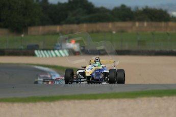 World © Octane Photographic Ltd. Donington Park test day 26th September 2013. BRDC Formula 4, MSV F4-13, HHC Motorsport, Gustavo Lima. Digital Ref : 0830lw1d7990