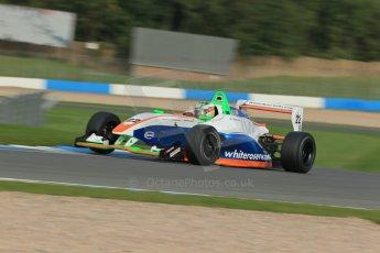 World © Octane Photographic Ltd. Donington Park test day 26th September 2013. BRDC Formula 4, MSV F4-13, James Greenway. Digital Ref : 0830lw1d8163