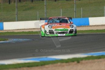 World © Octane Photographic Ltd. Donington Park test day 26th September 2013. Porsche 997 GT3-R – Trackspeed – Phil Keen, Jon Minshaw. Digital Ref : 0830lw1d8215