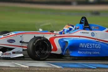 World © Octane Photographic Ltd. Donington Park test day 26th September 2013. BRDC Formula 4, MSV F4-13, HHC Motorsport, Charlie Robertson. Digital Ref : 0830lw1d8277
