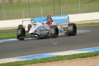 World © Octane Photographic Ltd. Donington Park test day 26th September 2013. BRDC Formula 4, MSV F4-13, Lanan Racing, Jake Hughes. Digital Ref : 0830lw1d8349