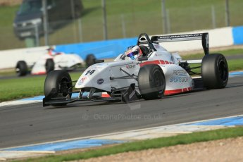 World © Octane Photographic Ltd. Donington Park test day 26th September 2013. BRDC Formula 4, MSV F4-13, Lanan Racing, Jake Dalton. Digital Ref : 0830lw1d8484