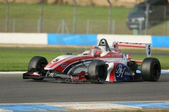 World © Octane Photographic Ltd. Donington Park test day 26th September 2013. BRDC Formula 4, MSV F4-13, HHC Motorsport, Raoul Hyman. Digital Ref : 0830lw1d8683