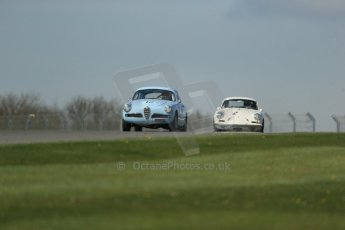World © Octane Photographic Ltd. Donington Historic Festival, Friday 3rd May 2013. Pre-63 GT. Digital Ref : 0648lw1d7044