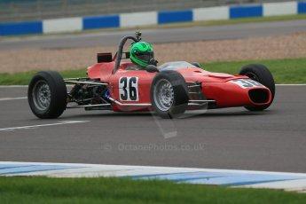 World © Octane Photographic Ltd. Donington Park General Unsilenced Test, Thursday 28th November 2013. HSCC Historic Formula Ford – Martin Stretton - Merlyn Mk20a. Digital Ref : 0870cb1dx8448