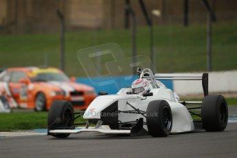 World © Octane Photographic Ltd. Donington Park general unsilenced testing October 31st 2013. BRDC Formula 4 (F4) Championship, MSV F4-013 - Jordan Albert. Digital Ref : 0849lw1d0666