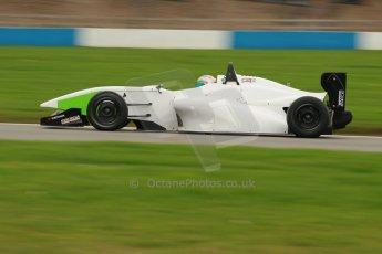 World © Octane Photographic Ltd. Donington Park General Unsilenced Testing 5th December 2013. BRDC Formula 4 (F4) Championship. MSV F4-013, MGR Motorsport, Hernan Fallas. Digital ref : 0873cb1d8576