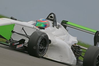 World © Octane Photographic Ltd. Donington Park General Unsilenced Testing 5th December 2013. BRDC Formula 4 (F4) Championship. MSV F4-013, MGR Motorsport, Hernan Fallas. Digital ref : 0873cb1dx8659