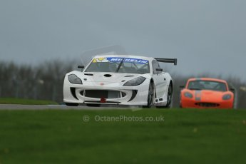 World © Octane Photographic Ltd. Donington Park General Unsilenced Testing 5th December 2013.  Ginetta G55 and Ginetta G40 Challenge - Total Control Racing. Digital ref : 0873cb1dx8736