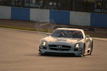 World © Octane Photographic Ltd. Donington Park general testing, Thursday 7th November 2013. Mercedes-Benz SLS AMG GT - Customer Sports / Fortec Motorsports, Oliver Webb and Benji Hetherington. Digital Ref : 0850lw1d0978