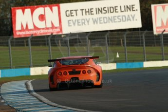 World © Octane Photographic Ltd. Donington Park general testing, Thursday 7th November 2013. Ginetta G55. Digital Ref : 0850lw1d1032