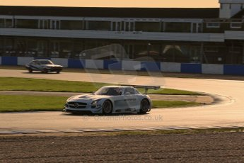 World © Octane Photographic Ltd. Donington Park general testing, Thursday 7th November 2013. Mercedes-Benz SLS AMG GT - Customer Sports / Fortec Motorsports, Oliver Webb and Benji Hetherington. Digital Ref : 0850lw1d2272