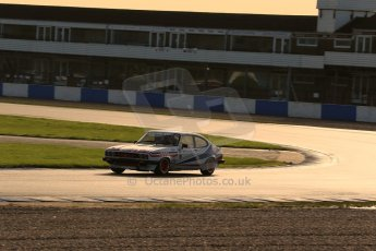 World © Octane Photographic Ltd. Donington Park general testing, Thursday 7th November 2013. Ford Capri - Paul Pochciol. Digital Ref : 0850lw1d2289