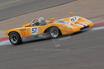 World © Octane Photographic Ltd. Donington Park General Un-silenced Testing, Thursday May 15th 2013. McLaren M6A CanAm. Digital Ref : 0676cb1d3659